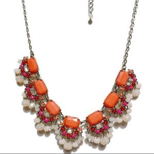 LOFT SEMI PRECIOUS GEMS NECKLACE